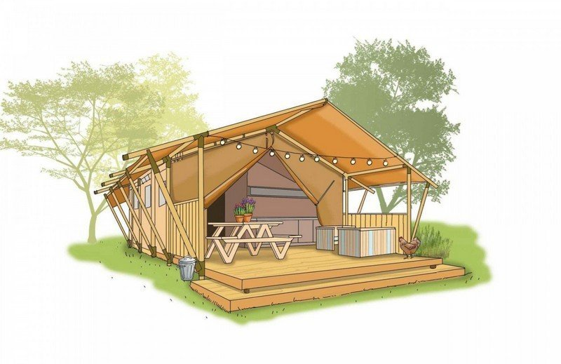 Glamping in Zuid-Holland